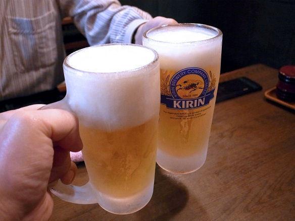 福よしで乾杯.JPG