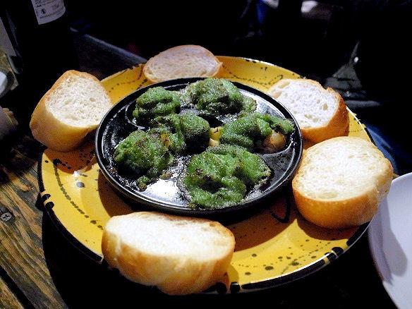 ツブ貝のエスカルゴバター焼き.JPG