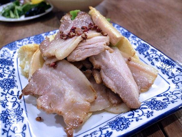 塩熟成豚の山椒香り炒め.JPG