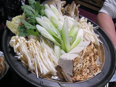 酒蔵新潟の熊鍋.JPG
