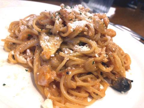 小海老ときのこのトマトクリームスパゲティ.jpg