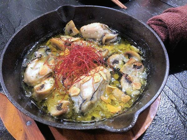 牡蠣のアヒージョ.JPG