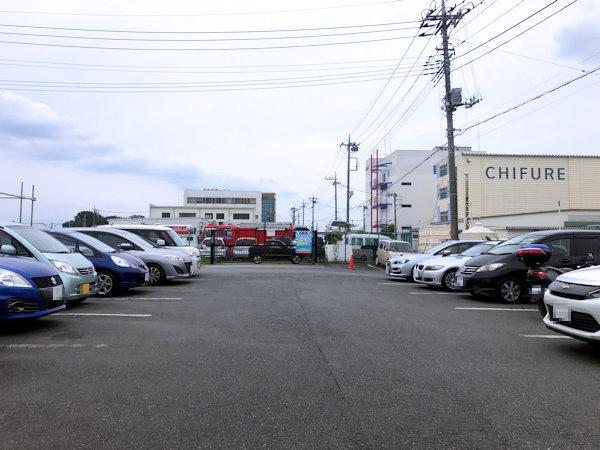 ラーメンひかりの駐車場.JPG