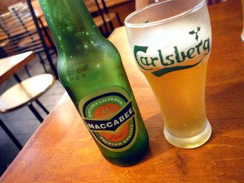 イスラエルのビール.JPG