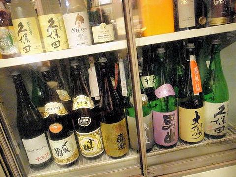 寿々女のお酒達.JPG