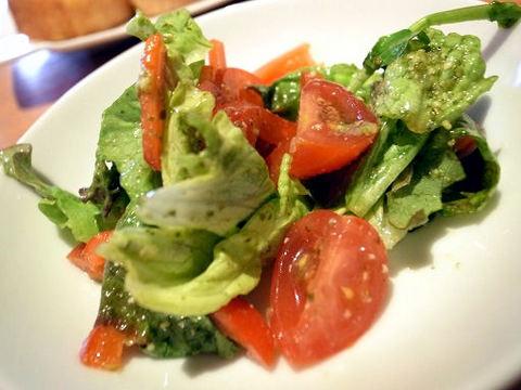 グラシアのサラダ.JPG