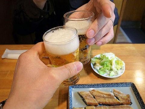 川二郎で乾杯.JPG