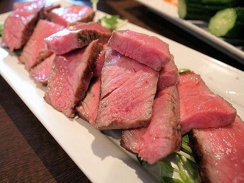牛のモモ肉の心芯.JPG