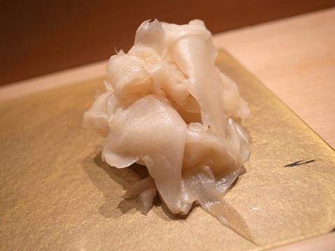 まんてん鮨のガリ.JPG