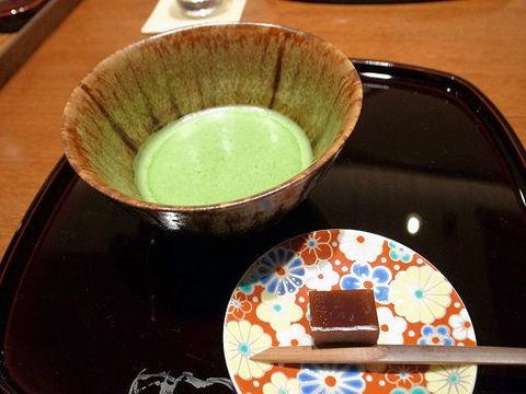 抹茶と羊羹.JPG