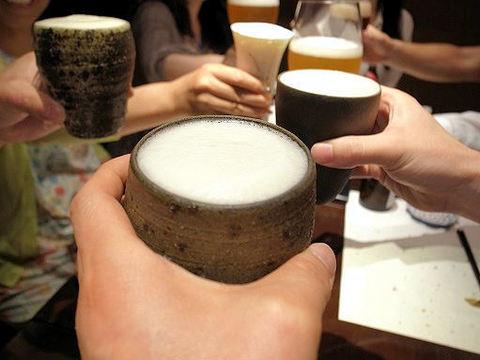 酢飯屋で乾杯.JPG