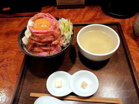 ローストビーフ丼定食.JPG