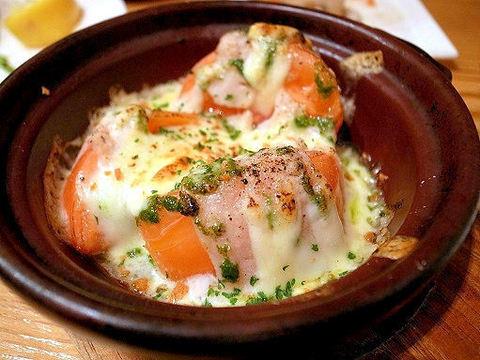肉巻きトマトのバジルチーズ焼き.JPG
