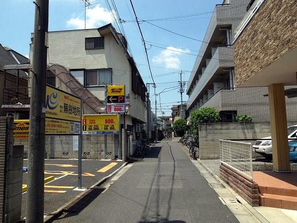 椎名町の路地裏.JPG