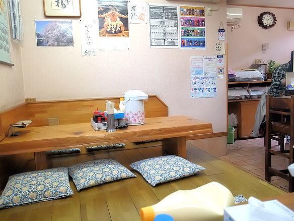 まんぷく食堂の店内.JPG