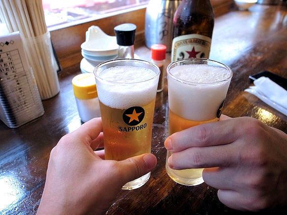 浜ちゃん 上野店で乾杯.JPG
