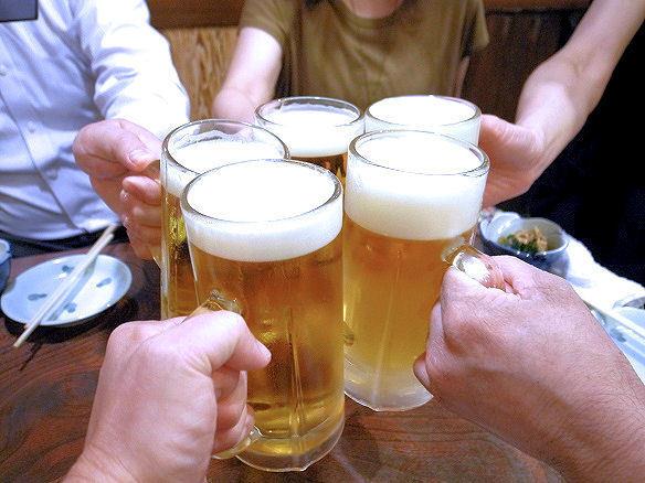 居酒屋 ほろよいで乾杯.JPG
