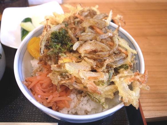 野菜かき揚げ丼の全容.jpg