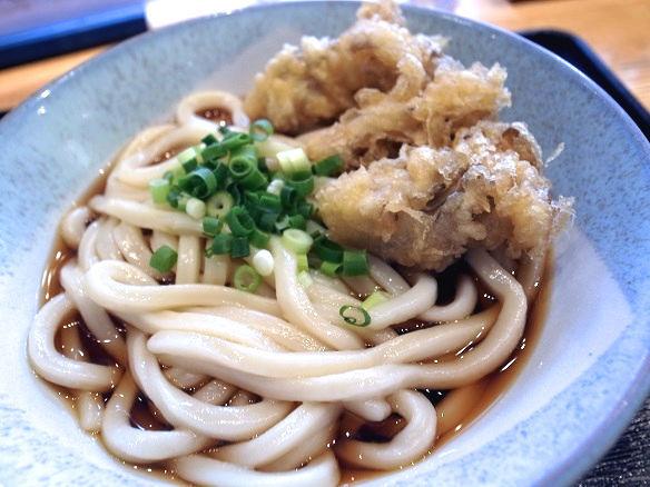 ぶっかけに舞茸の天ぷら.JPG