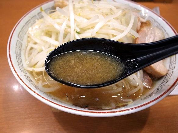 ラーメン豚山のスープ.JPG