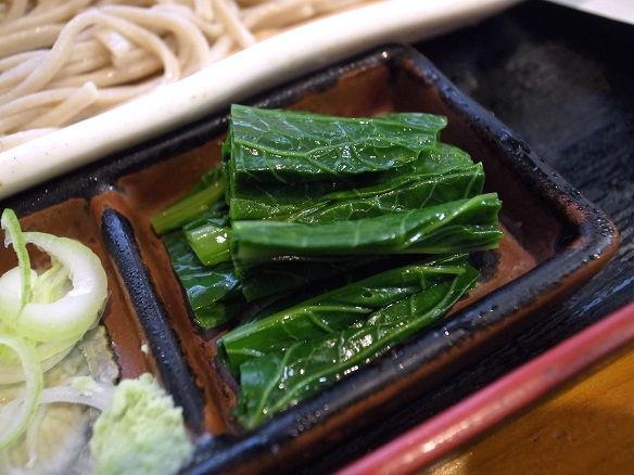 野沢菜のお浸し.JPG