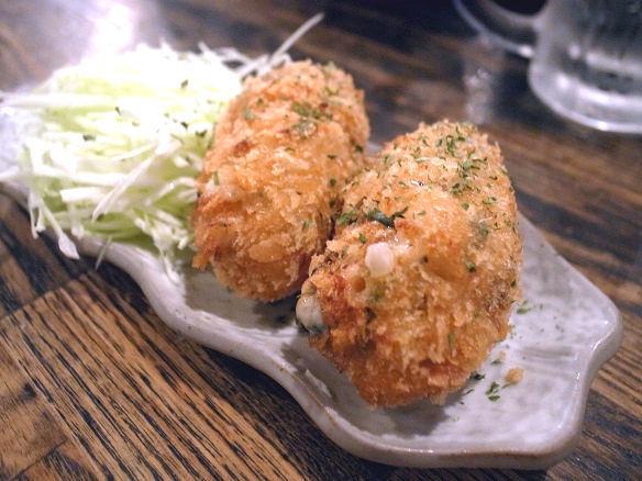 鮭とキノコのクリームコロッケ.JPG