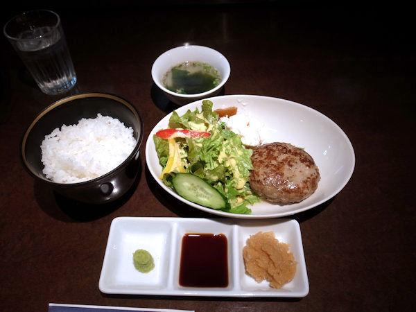 ジューシーハンバーグ定食.JPG