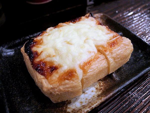 栃尾の油揚げ みそマヨネーズ焼き.JPG