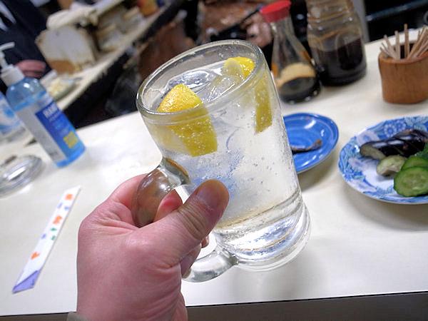 三楽で乾杯.JPG