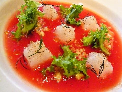 アオリイカのタルタル トマトのクーリ.jpg