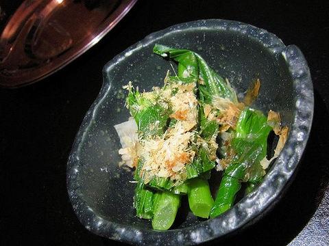 お通しの菜の花.JPG