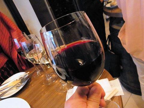 俺のフレンチの赤ワイン.JPG