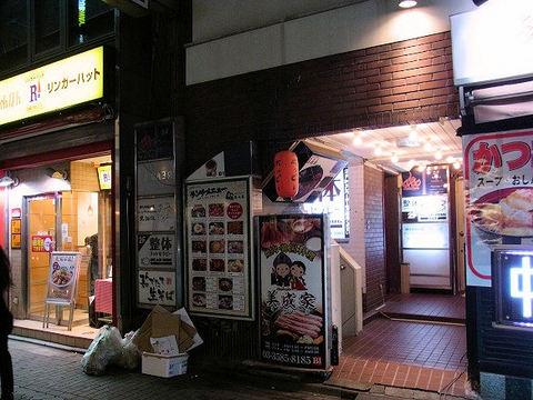 黒猫夜の入口.JPG