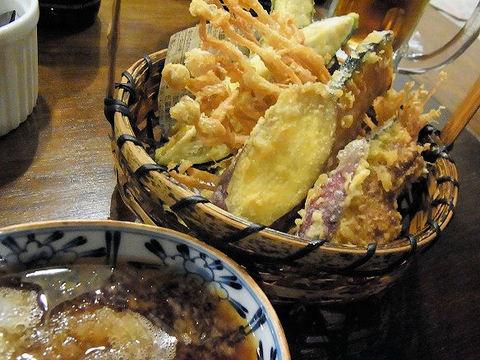 季節野菜の天ぷら.JPG